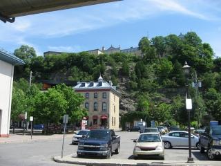 cliffs in Levis