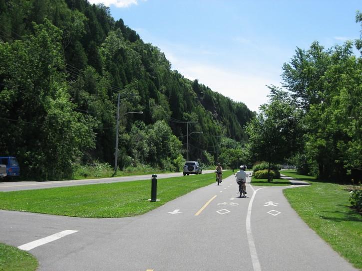 bike path east Quebec Bridge