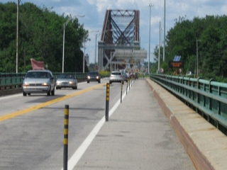 approach to the Quebec Bridge