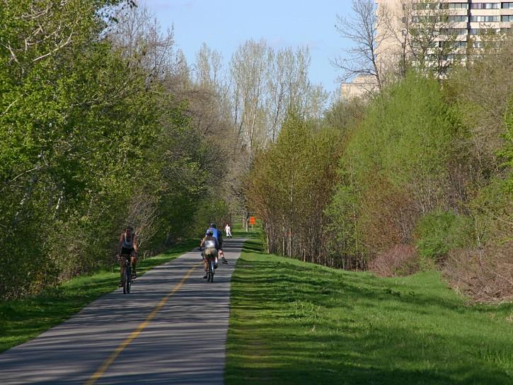 NCC pathway near Britannia Park.