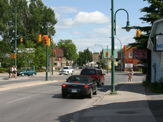 Main Street in Stittsville