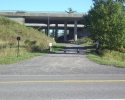 trail under Highway 417