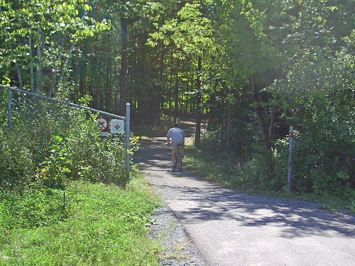 start of Greenbelt Trail