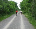 cycling on the Ottawa-Carleton Trailway