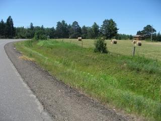 farmland along Oliver Road