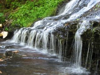 bottom of the Little Falls