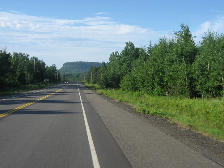 Highway 61 to the Canada/US border