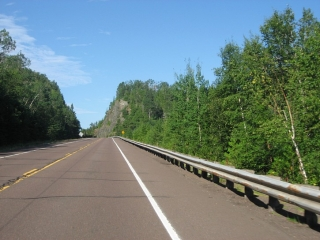Highway 61 in USA