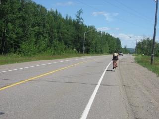 Lakeshore Drive east of Thunder Bay