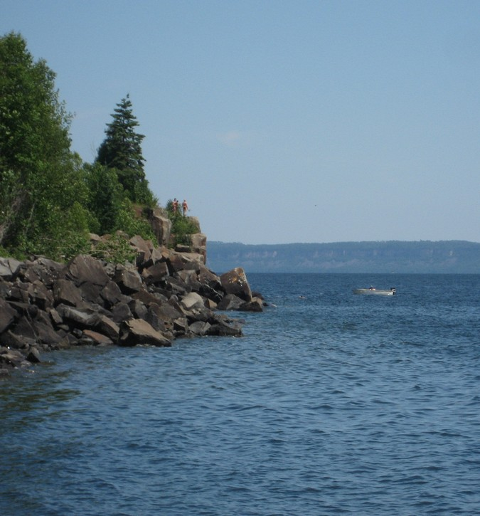 cliffs in the Silver Harbour Conservation Area