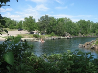 small bay in the Silver Harbour Conservation Area
