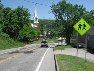 small town of Perkins