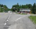 intersection of 105 and Chemin de la Riviere