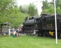 steam train in Wakefield