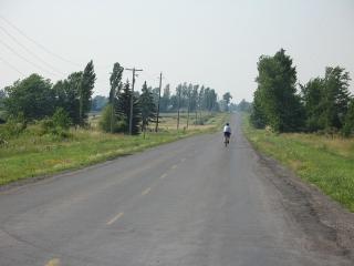 Highway 95 on Wolfe Island