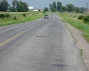 Highway 96 on Wolfe Island