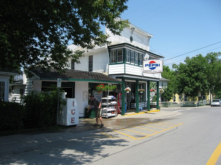 store in Marysville on Wolfe Island